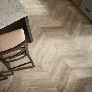 Glee chevron flooring | Cherry City Interiors