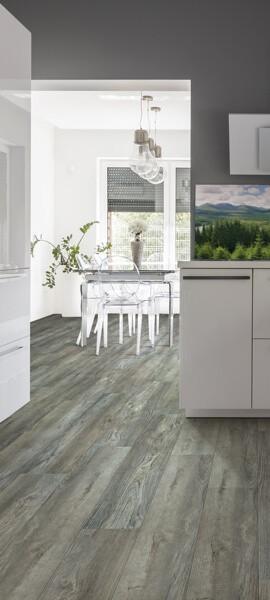 luxury vinyl kitchen   Cherry City Interiors