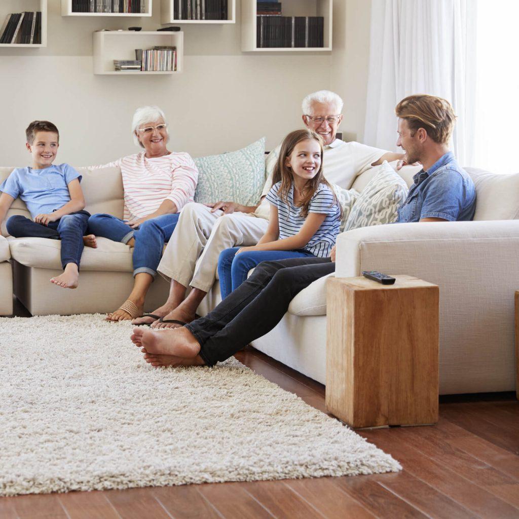 Living room rug | Cherry City Interiors