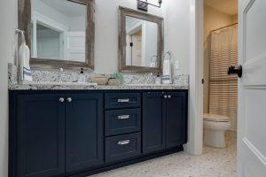 Dark color of cabinets | Cherry City Interiors