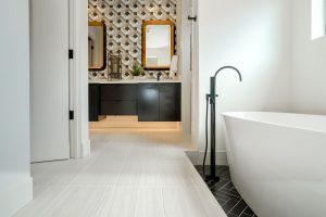 Limestone flooring | Cherry City Interiors