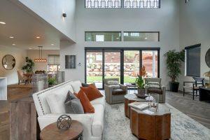 Beautiful interior of living room   Cherry City Interiors
