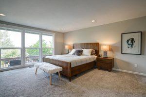 Spacious bedroom   Cherry City Interiors
