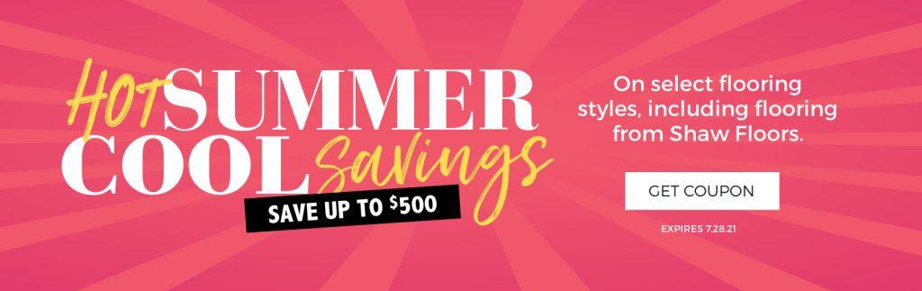 Hot Summer, Cool Savings | Cherry City Interiors