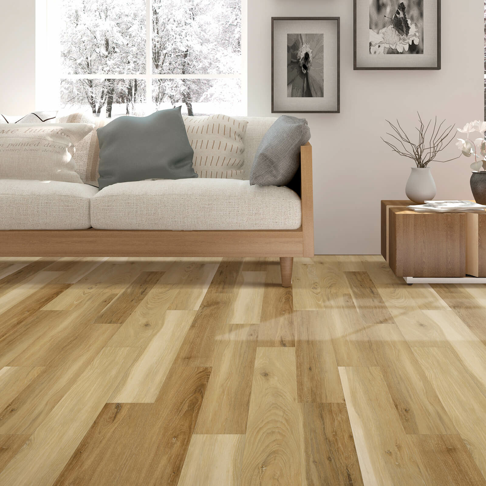 Mohawk laminate flooring | Cherry City Interiors