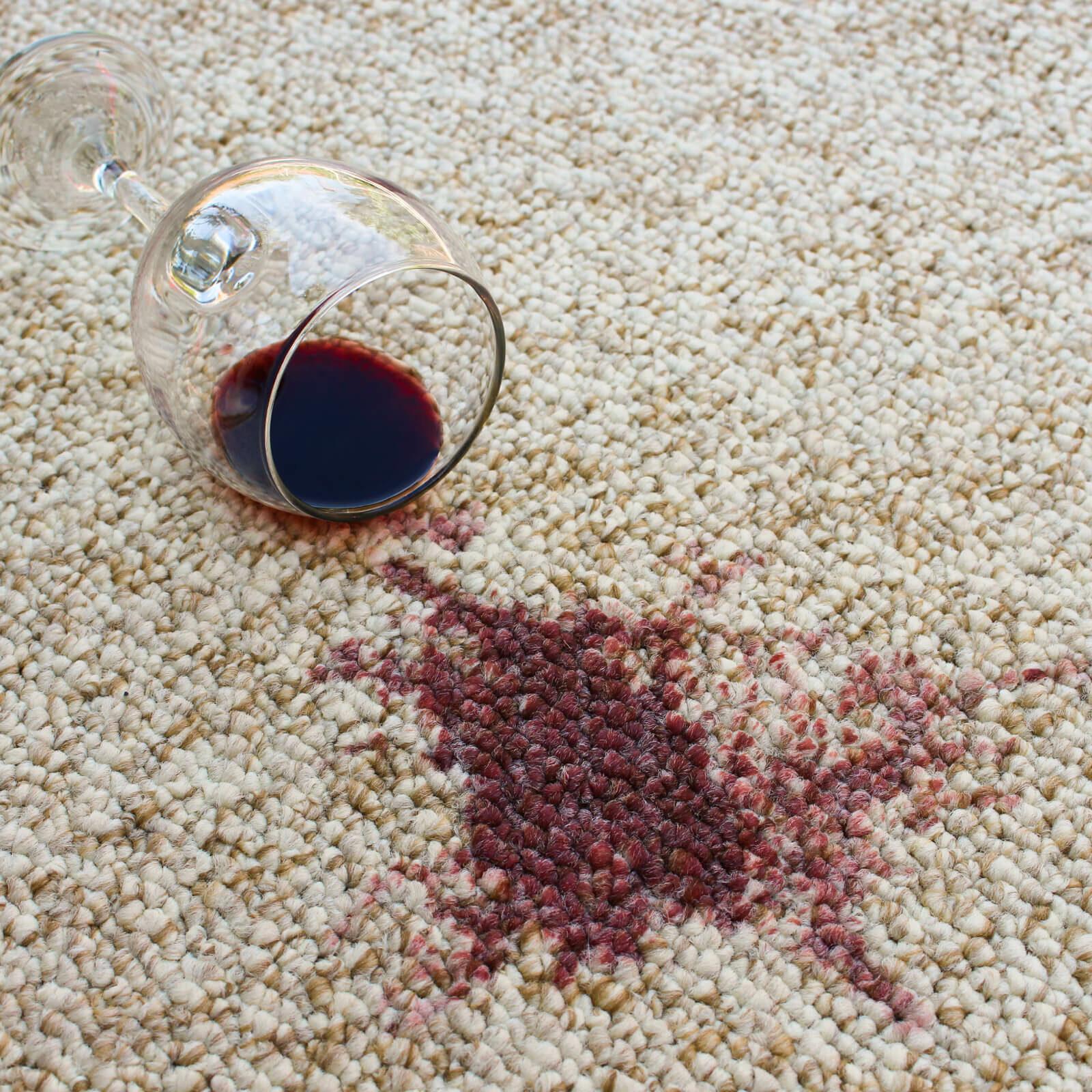 Wine stain cleaning | Cherry City Interiors