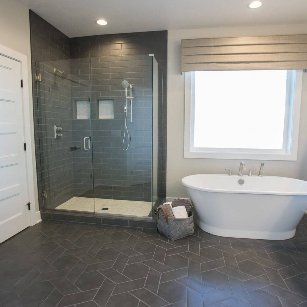 Bathroom flooring | Cherry City Interiors