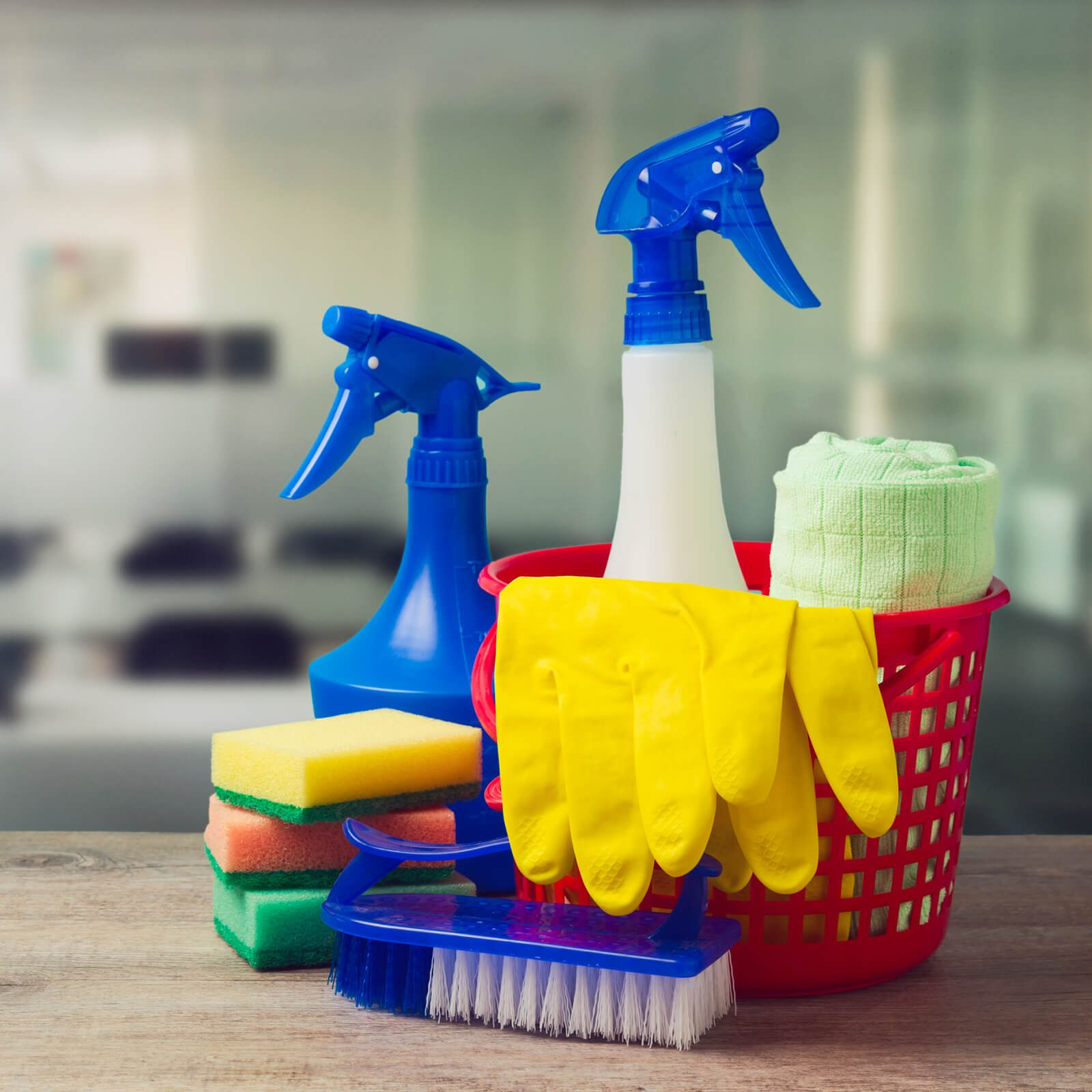 Cleaning supplies | Cherry City Interiors