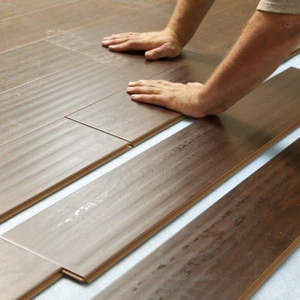 Laminate installation | Cherry City Interiors