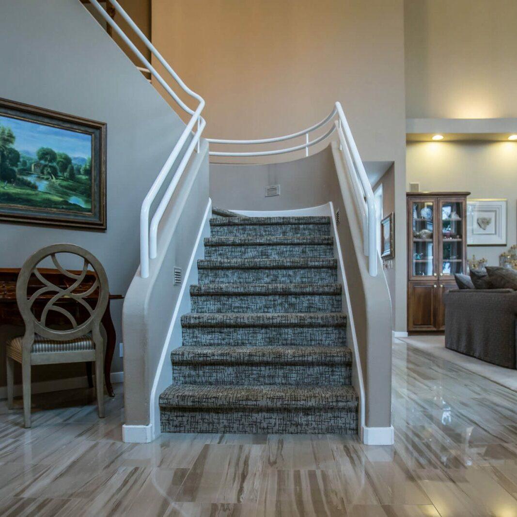 Stairway | Cherry City Interiors
